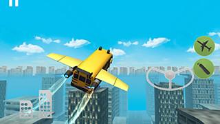 Flying Bus Simulator 2016 скриншот 1