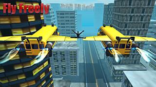 Flying Bus Simulator 2016 скриншот 2