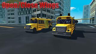 Flying Bus Simulator 2016 скриншот 3