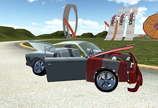 Crash Car Driving скриншот 1