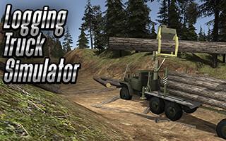Logging Truck Simulator 3D скриншот 1