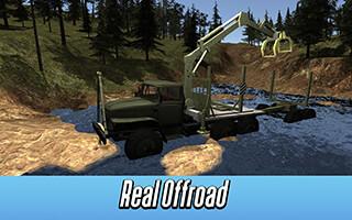 Logging Truck Simulator 3D скриншот 3