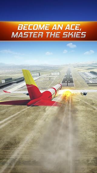Flight Alert Simulator 3D Free скриншот 1