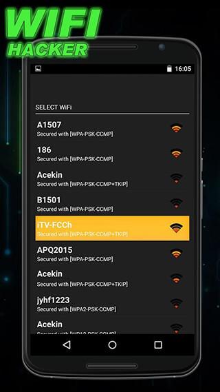 Wifi Password Hacker Prank скриншот 1