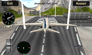 Flight Simulator: Fly Plane 3D скриншот 2