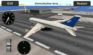 Flight Simulator: Fly Plane 3D скриншот 4