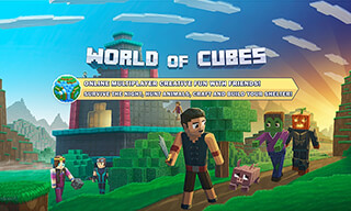 World of Cubes: Survival Games скриншот 1