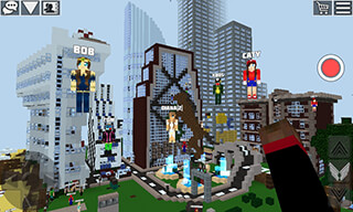World of Cubes: Survival Games скриншот 2