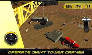 Bridge Builder: Crane Operator скриншот 2