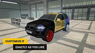 Parking Game SUV скриншот 2