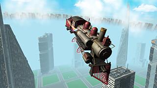 Flying Train Simulator 3D Free скриншот 1