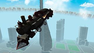 Flying Train Simulator 3D Free скриншот 4
