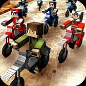 Dirtbike Survival: Block Motos иконка