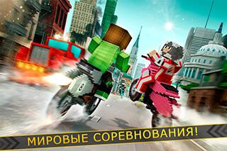 Dirtbike Survival: Block Motos скриншот 3
