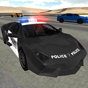 Police Car Driving Simulator иконка