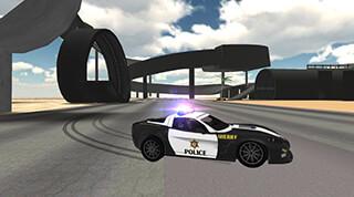 Police Car Driving Simulator скриншот 1