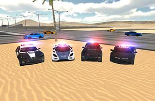 Police Car Driving Simulator скриншот 2