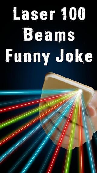 Laser 100 Beams: Funny Joke скриншот 1
