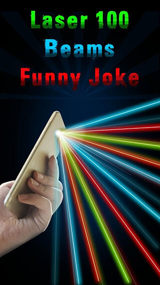Laser 100 Beams: Funny Joke скриншот 1