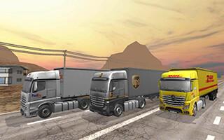 Truck Simulator 2015 скриншот 3