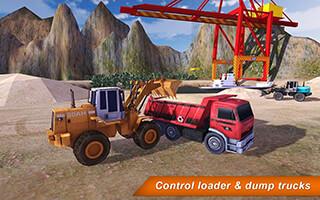 Loader and Dump Truck Hill SIM 2 скриншот 1