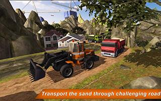 Loader and Dump Truck Hill SIM 2 скриншот 4