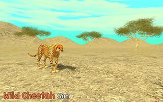 Wild Cheetah Sim 3D скриншот 1