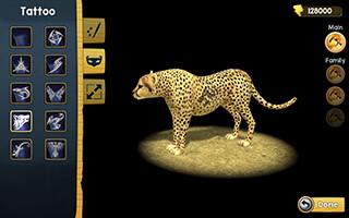 Wild Cheetah Sim 3D скриншот 3