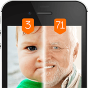Face Scanner What Age Prank иконка