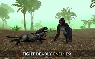 Wild Panther Sim 3D скриншот 2