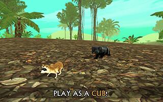 Wild Panther Sim 3D скриншот 3
