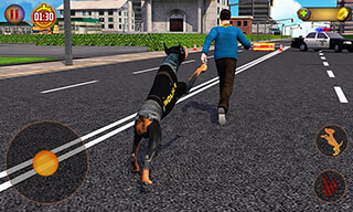 Police Dog Simulator 3D скриншот 1