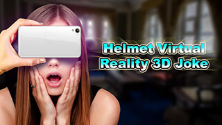 Helmet Virtual Reality 3D Joke скриншот 1