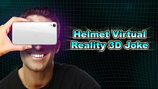 Helmet Virtual Reality 3D Joke скриншот 3