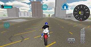 Fast Motorcycle Driver 3D скриншот 1