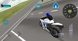Fast Motorcycle Driver 3D скриншот 2