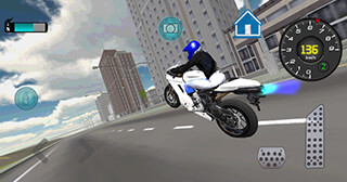 Fast Motorcycle Driver 3D скриншот 3
