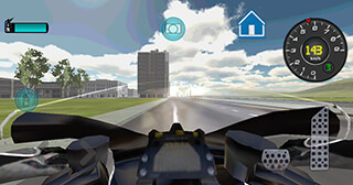 Fast Motorcycle Driver 3D скриншот 4