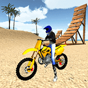 Motocross Beach Jumping 3D иконка