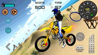 Motocross Beach Jumping 3D скриншот 2
