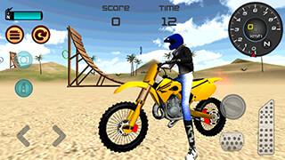 Motocross Beach Jumping 3D скриншот 4