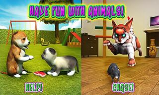 Cat Frenzy 3D скриншот 2