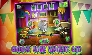 Cat Frenzy 3D скриншот 4