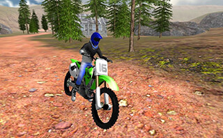 Offroad Bike Race 3D скриншот 1