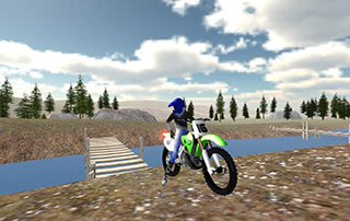 Offroad Bike Race 3D скриншот 2