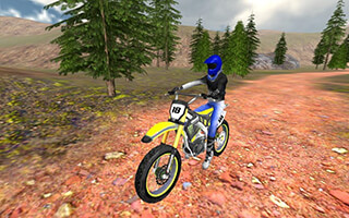 Offroad Bike Race 3D скриншот 3