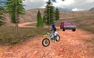 Offroad Bike Race 3D скриншот 4