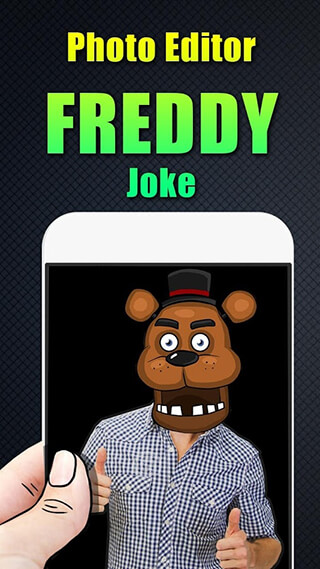 Photo Editor Freddy Joke скриншот 1