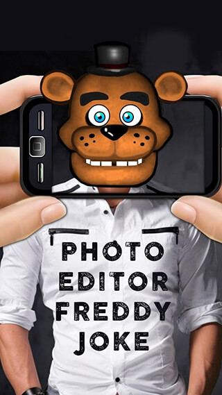 Photo Editor Freddy Joke скриншот 4