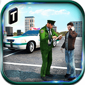Border Police Adventure Sim 3D иконка